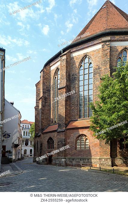 Nikolai Kirche, St. Nicholas' Church, Nikolaiviertel, Berlin, Brandenburg, Germany
