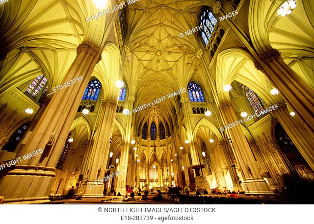 St Patrick's Cathedral. New York City, USA