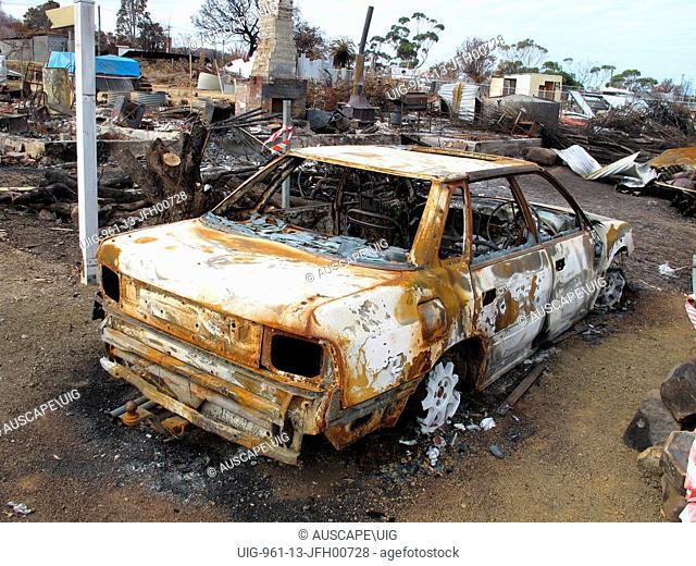 Bushfires of January 4 2013, Tasmania, Australia