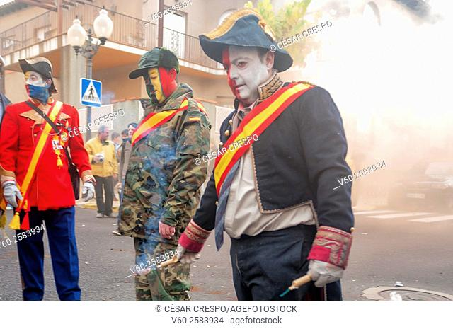-Festa dels Enfarinats 2015- Traditions and Festivities in Ibi, Alicante (Spain)