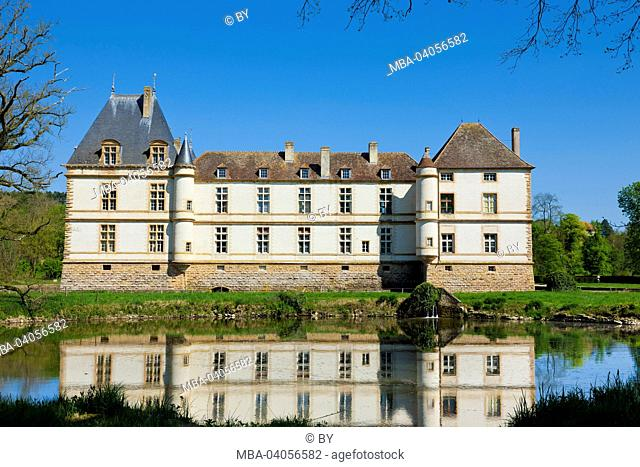 Château de Cormatin, west facade, France