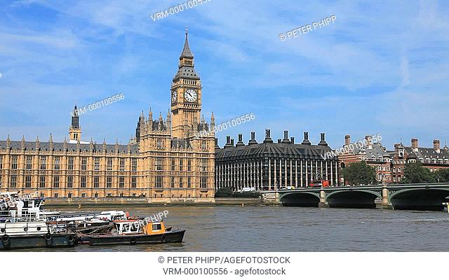 Houses of Parliament and Tower of Big Ben
