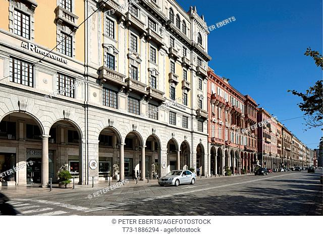 Via Roma, Cagliari, Sardinia