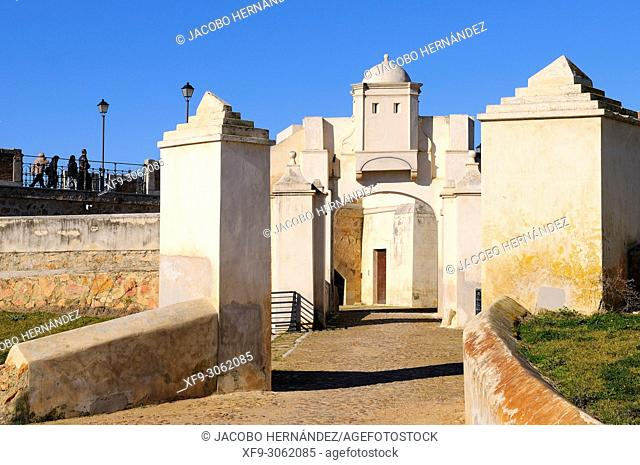 The Hornabeque fort. City of Badajoz. Extremadura. Spain