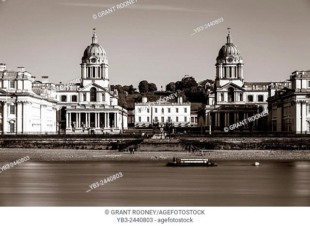 The Old Royal Naval College, Greenwich, London, England