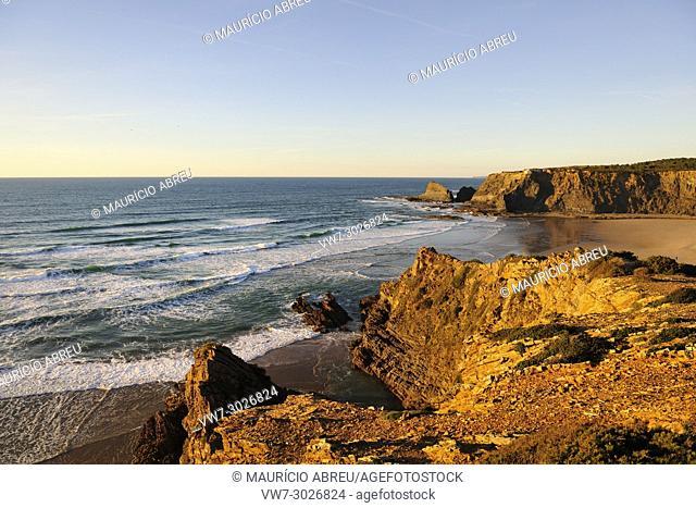 Odeceixe beach. Algarve, Portugal