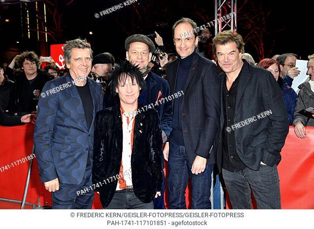 Die Toten Hosen attending the 'Weil du nur einmal lebst - Die Toten Hosen auf Tour' premiere at the 69th Berlin International Film Festival / Berlinale 2019 at...