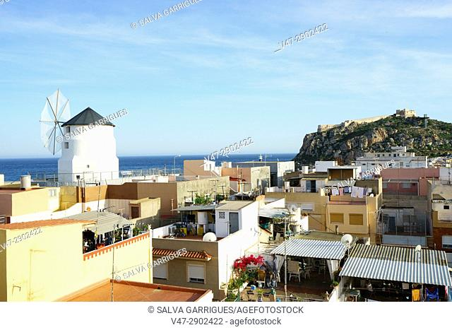 View of Aguilas, Murcia, Spain