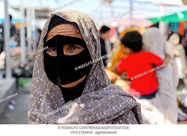 Bandari woman, Iran