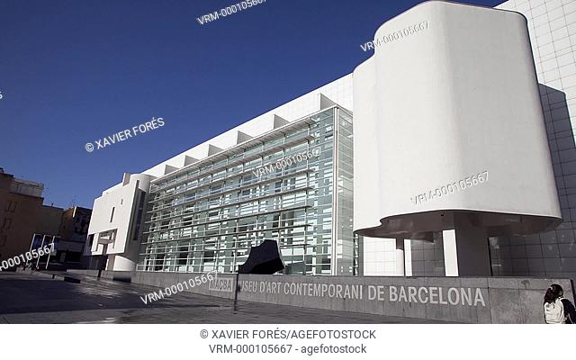 Museum of Comtemporary Arts - MACBA -, Barcelona, Spain