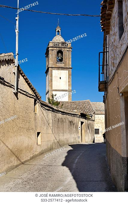 Iglesia en Lagartera. Toledo. Castilla la Mancha. Spain. Europe