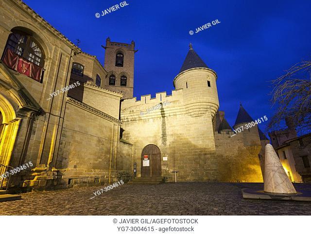 Palace of the Kings of Navarre, Olite castle, Navarre, Spain