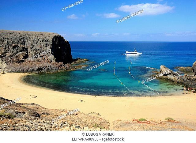 Papagaya beach, Lanzarote