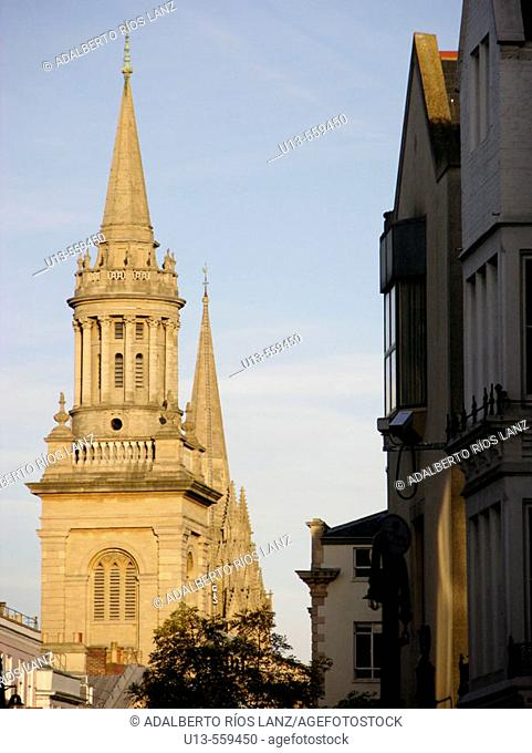 Lincoln College Tower Oxford University England United Kingdom