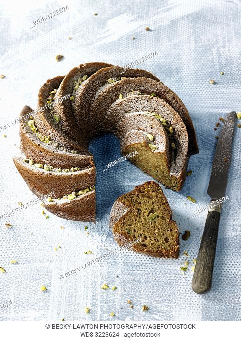 bizcocho de calabacin / zucchini sponge cake