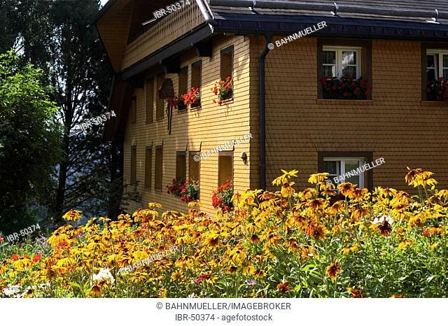Bernau southern Black Forest Baden-Wuerttemberg Baden-Württemberg Germany inn Adler tenement