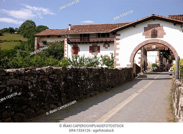 Amaiur - Maya Entry Arch, Amaiur, Baztan, Navarre, Spain
