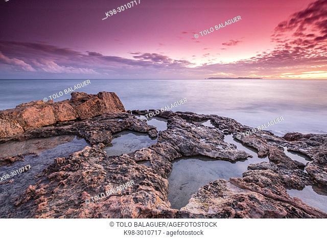 Cap de ses Salines ,Mallorca, balearic islands, Spain