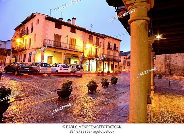 Building in Travesia Mayor of Riaza, Segovia, Spain