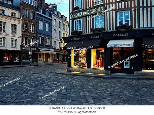 Honfleur, Calvados, Normandy, France