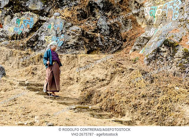 Walking in Bhutan's countryside