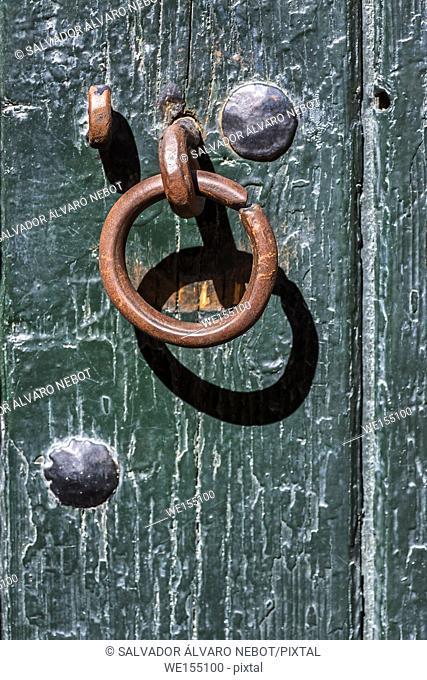 Knocker in the door