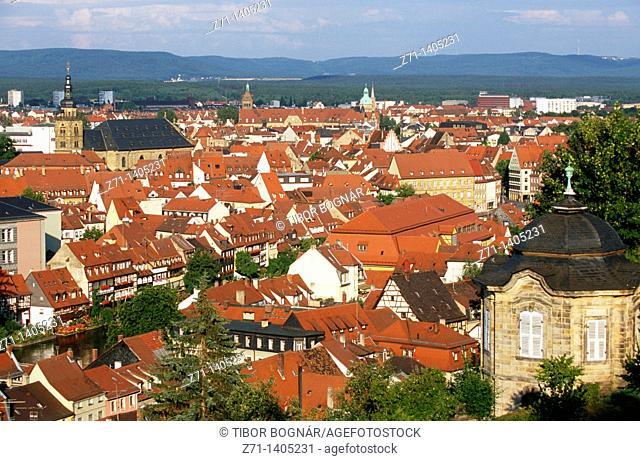 Germany, Bavaria, Bamberg, general view