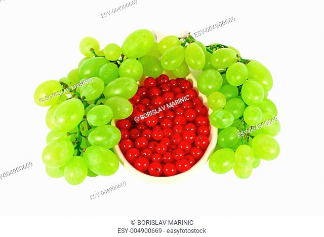 Grape and red currant
