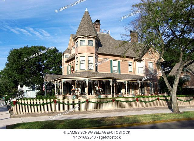 The Bailey House Bed and Breakfast built in 1895 in the historic district of Fernandina Beach on Amelia Island in Florida  Listed on the National Register of...
