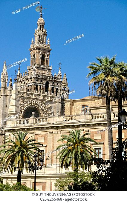 Cathedral and Giralda, Sevilla, Andalusia, Spain