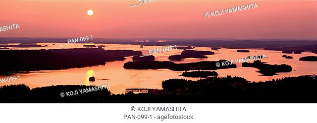 Sunset, Kuopio, Finland