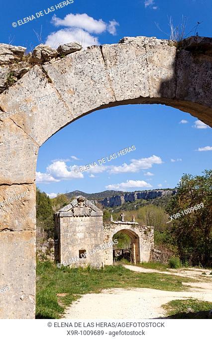 View at the Arlanza Monastery. Burgos. Spain