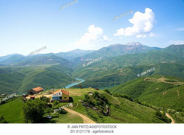 Mountain landscape, Albanian Alps, Albania