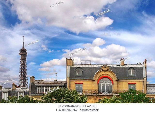 French mansard. Paris