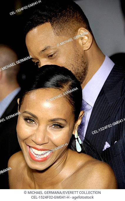 Jada Pinkett Smith, Will Smith at arrivals for FOCUS Premiere, TCL Chinese 6 Theatres (formerly Grauman's), Los Angeles, CA February 24, 2015