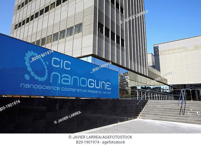 Building, CIC nanoGUNE, Nano science Cooperative Research Center, Donostia, San Sebastian, Gipuzkoa, Basque Country, Spain