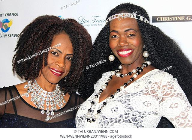 Pre-New Year's Eve party and media awards hosted by designer Eugene Sidney Featuring: Laverne Tills Where: Hollywood, California