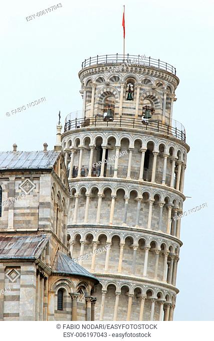 The Leaning Tower of Pisa. Tuscany, Italy