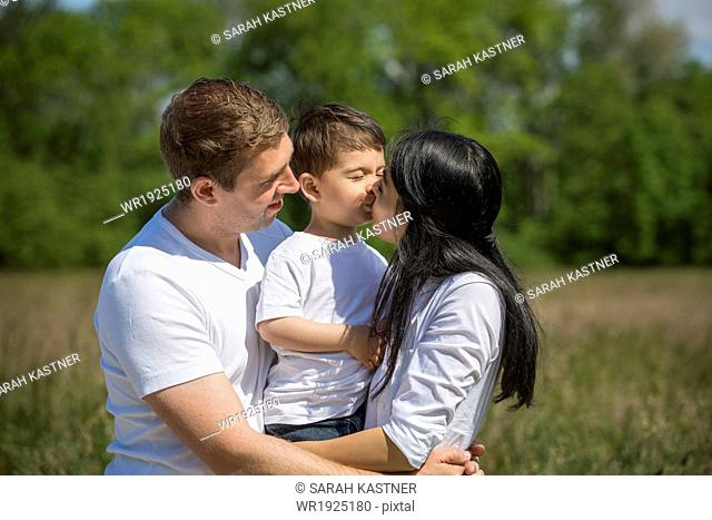 Family with one child