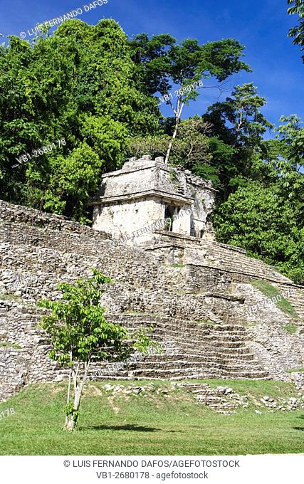 Temple of the Waning Moon, Palenque, Chiapas, Mexico