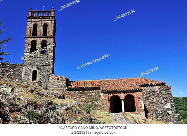 Mosque, Xth century. Almonaster, Huelva province, Spain