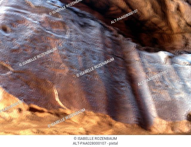 Rock, textured surface, blurred