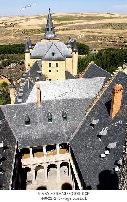 Alcázar of segovia, Spain