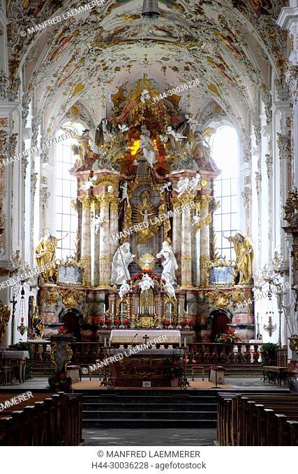 Europe, Germany, Bavaria, gang book, pencil church Mariä birth in gang book