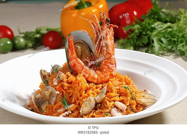 seafood risotti