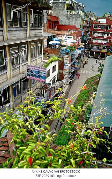 Thamel District in Kathmandu