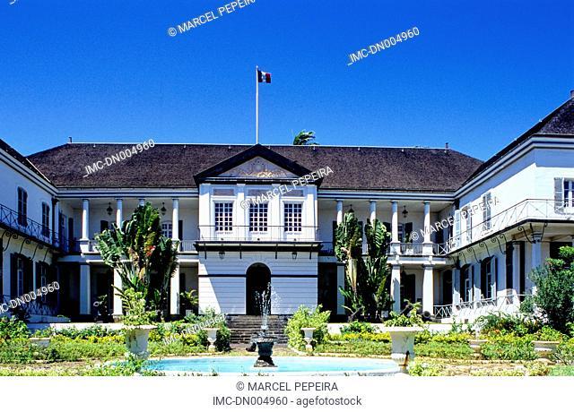 Reunion, Saint Denis, town hall