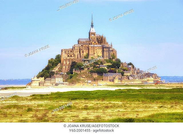 Le Mont-Saint-Michel, Avrachnes, Normandy, France
