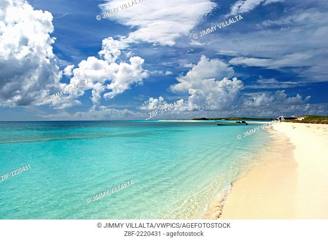 Los Roques Archipelago National Park, is a beautiful archipelago of small coral islands located in the Caribbean Sea and occupies 221,120 hectares