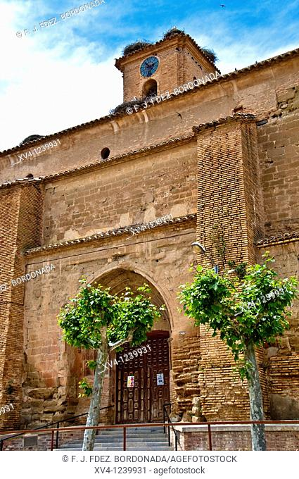 Asuncion's Church  Lanaja  Zaragoza  Aragón  Spain